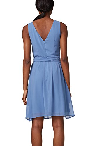 Blue 430 Damen Partykleid Collection ESPRIT Blau WR40pqc