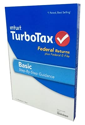 TurboTax Basic Fed and Efile 2013