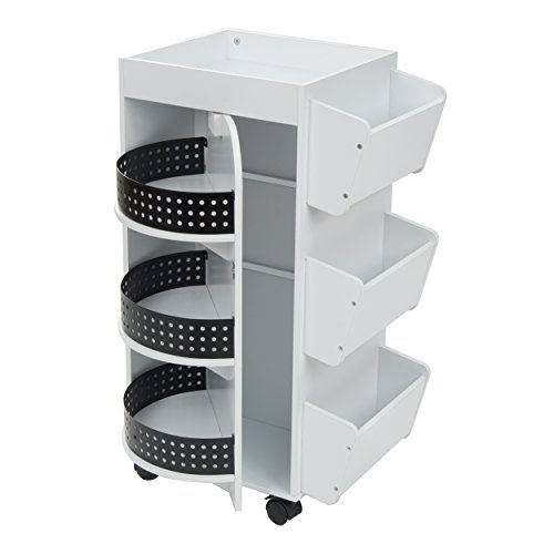 Studio Designs Swivel Organizer, White by Studio Designs