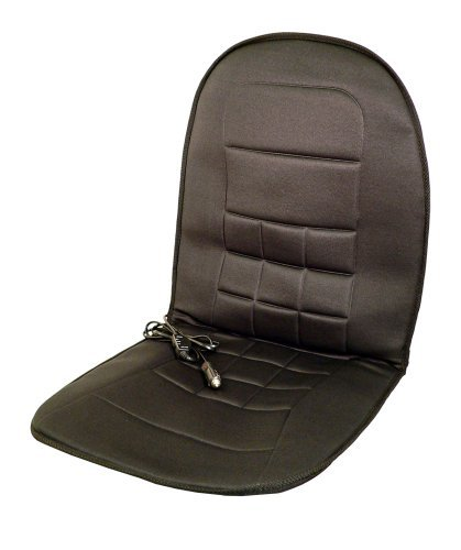 Wagan IN9738 Black 12V Heated Seat Cushion by Wagan