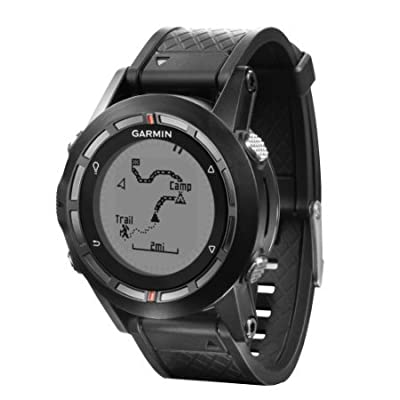 Garmin Fenix Hiking GPS Watch with Exclusive Tracback Feature (Certified Refurbished)