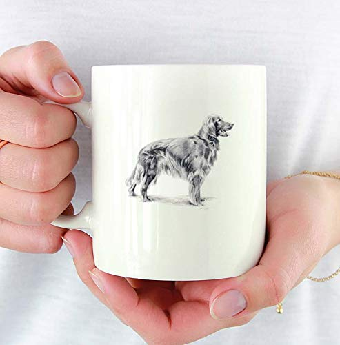 - Irish Setter Custom 11oz Mug With Dog Art Featuring Watercolor Painting by Artist DJ Rogers