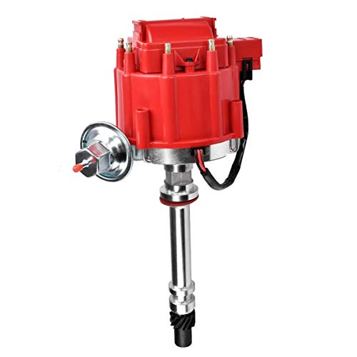 FAERSI Performance HEI Distributor 65K Coil 7500RPM for Chevy GM Small Block SBC 350 283 305 307 327 400 & Big Block BBC 454 402 396 427 V8