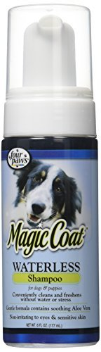 - Four Paws Magic Coat Waterless Dog Grooming Shampoo, 6oz by Four Paws