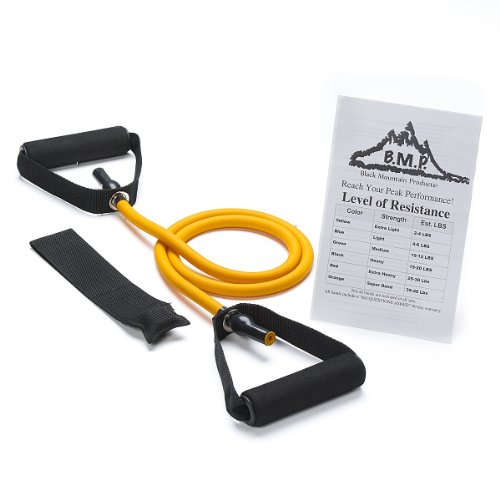 Black Mountain Products Single Resistance Band Door Anchor and Starter Guide