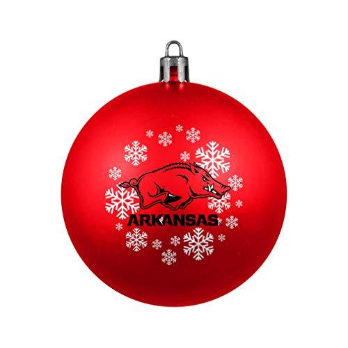 NCAA Arkansas Razorbacks Shatterproof Ball Ornament