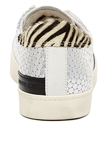 Argento In e Low Pong Pelle t E a D Hill Sneaker Silber Rete AqfZPP