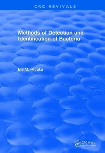 Methods of Detection and Identification of Bacteria (1977)