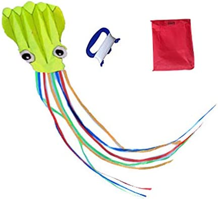 Purple Large Rainbow Delta Kite Mollusc Octopus for Children Outdoor Game,Activities,Beach Trip Great Gift to Kids Childhood Precious Memories BEIXI 2 Pack Kites