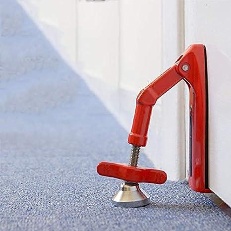 Doorjammer Türschloss Tragbares Tür Sicherheits Gerät Sicherheitstürschloss Für Haussicherheit Und Persönlichen Schutz Baumarkt