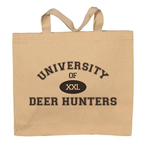 University Of XXL Deer Hunters Totebag Bag by T-ShirtFrenzy