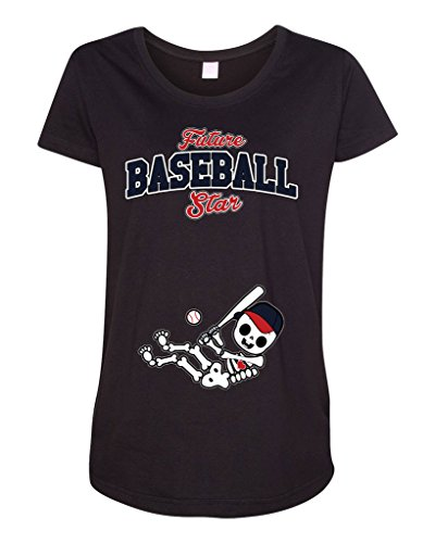 Future Baseball Star Washington Baby Fan Sports Ball Maternity DT T-Shirt Tee (XX-Large, (Jayson Werth Game)