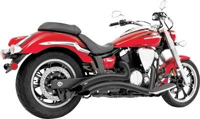 (Freedom MY00084 Exhaust (Radius Black Yamaha))