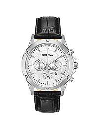 Reloj Bulova para Hombres 42mm, pulsera de Piel