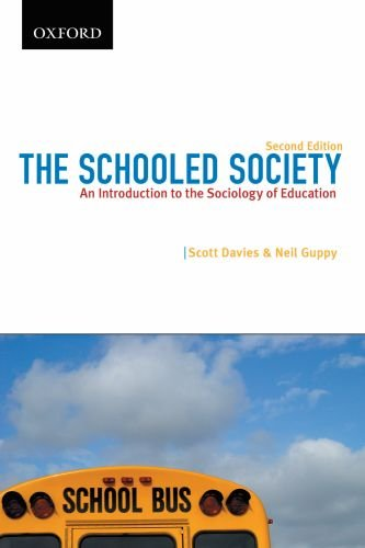 The Schooled Society: An Introduction to the Sociology of Education (Themes in Canadian Sociology)