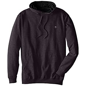 Champion Men's Big-Tall Fleece Pullover Hoodie, Charcoal Heather, 5X