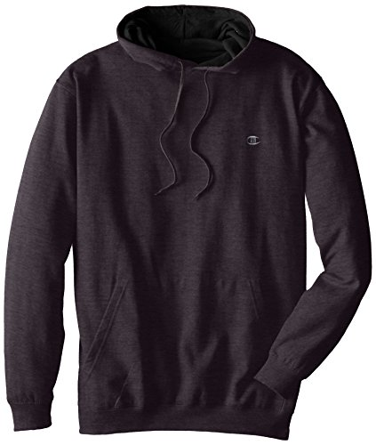 Champion Men's Big-Tall Fleece Pullover Hoodie, Charcoal Heather, 3X