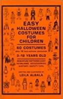 Easy Halloween Costumes for Children 0969193270 Book Cover