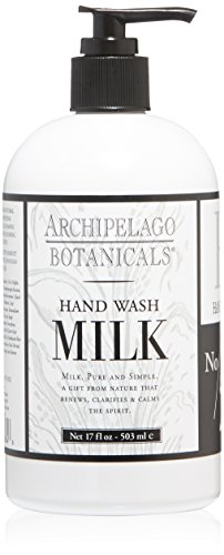 Archipelago Milk Hand Wash, 17 Fl Oz