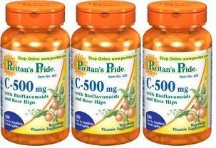 Puritains fierté vitamine C à