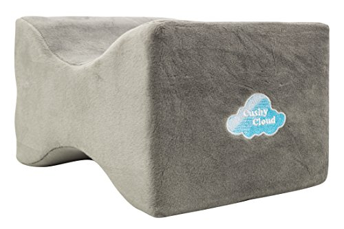 Cushy Cloud Orthopedic Memory Foam Knee Pillow Perfect Pain...
