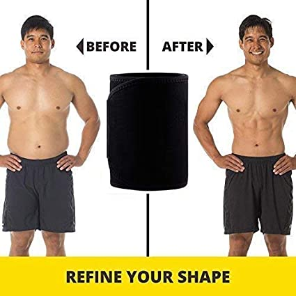 SlimmKISS Women Waist Trainer Belt Corset Body Shaper Trimmer Slimmer Compression Band for Weight Loss Workout Fitness