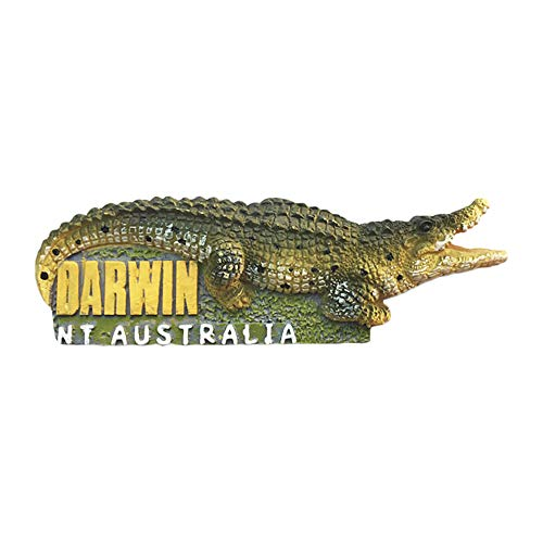 - 3D Nt Australia Darwin Crocodile Park Refrigerator Magnet Tourist Souvenirs Stickers,Home & Kitchen Decoration Australia Fridge Magnet From China