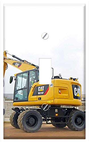 Switch Plate Single Toggle - M315F Hydraulic Excavators Short Tail Short Rear (Rear Excavator)