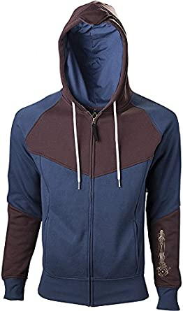 Import Europe - Sudadera Hoja Oculta Assassins Creed Unity, Talla L, Color Azul/