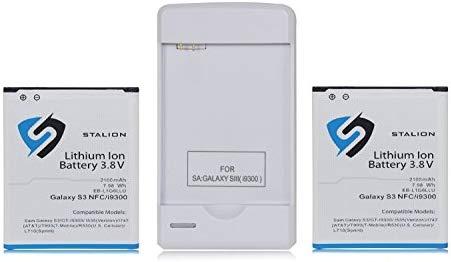 Stalion Batería de Repuesto para Galaxy S3, 2100 mAh, ión de Litio ...