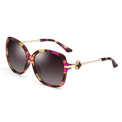 6c154cdcb4 Gafas De Sol Mujer Rojo De Valentín Sol La Polarizadas Día Gafas Sol Cara Sol  De ...