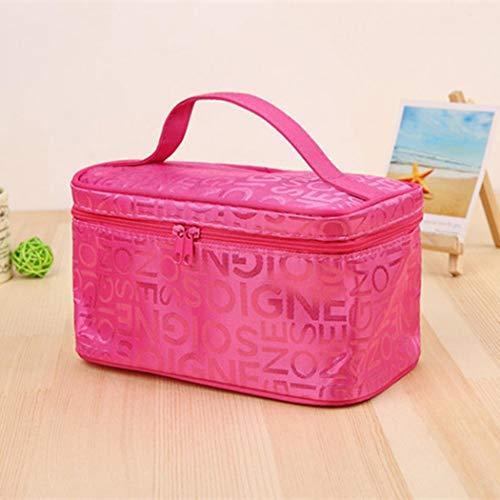 IEnkidu Women Cosmetic Makeup Bag Travel Toiletry Zipper Holder Handbag Organizer Cosmetic Bags