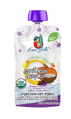 Loco Bebe Organic Caribbean Pumpkin Puree for Kids (4oz.)