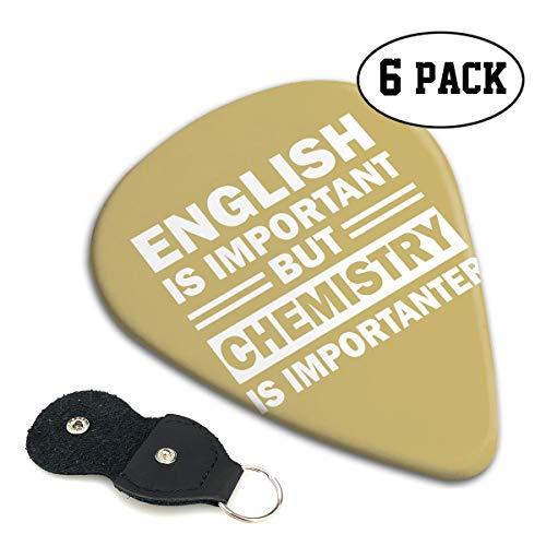 MKJIH The Chemistry of Love-6 Pack Picks Sampler Classic 351 Shape Guitar Picks for Guitar Bass]()