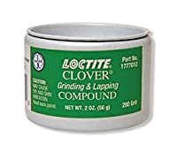 Loctite 1777012 Clover Grinding and Lapping Compound, 2-oz.