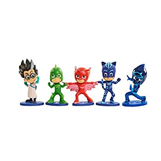 PJ Masks Collectible Figure Set, 5 Pack