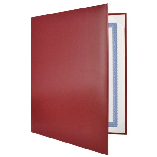 Maroon Padded Diploma Covers - Set of 25 by Jones School Supply Co., Inc. (Image #1)