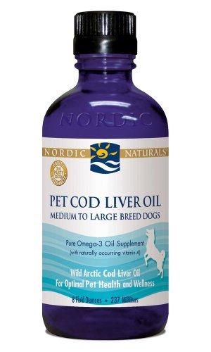 Nordic Naturals, Pet Cod Liver Oil, 8 fl oz (237 ml), My Pet Supplies