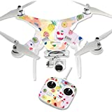 MightySkins Protective Vinyl Skin Decal for DJI Phantom 3 Standard Quadcopter Drone wrap cover sticker skins Fruit Water
