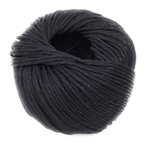 Black Packing String • 100% Hemp • 50g Ball • 205 feet / 62 Meters ()