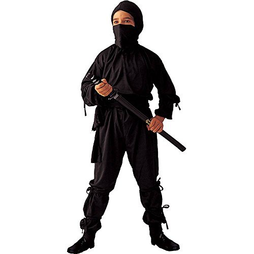 RG Costumes Ninja Costume, Child Medium/Size 8-10 ()
