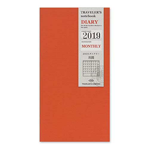 List of the Top 10 midori traveler's notebook refill 2020 monthly you can buy in 2020