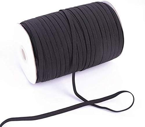 Amazon Com Brand 30 Yards Black Elastic 1 8 Inch Flat Elastic