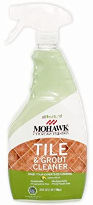 Mohawk FloorCare Essentials Tile and Grout Cleaner Spray All Natural Lemon Fresh Aroma 32oz