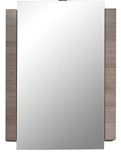 28 opinioni per trendteam, Armadietto da bagno con specchio, Bianco (Weiß)