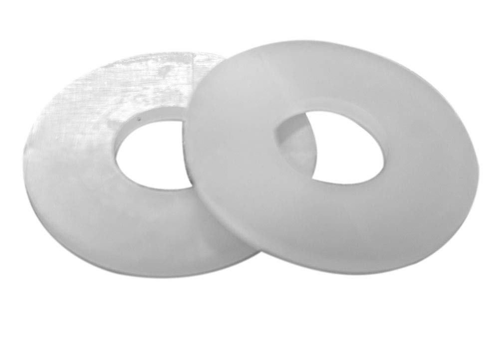 "25-50 100 CREAM Color Nylon Flat Washers 5//16/"" ID X 1/""OD X 1//4/"" THICK NH"