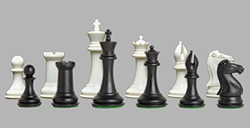 n - The Collector Plastic Chess Set - Pieces Only - 3.75