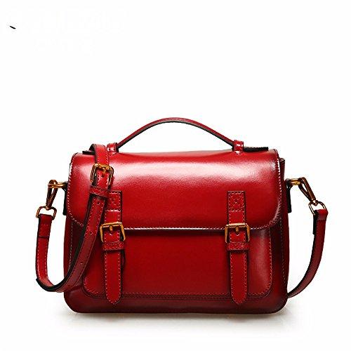 Single Gules Bag Gules Gwqgz Style 2018 Bag Satchel Retro Shoulder New Fashion qwn0w7xa