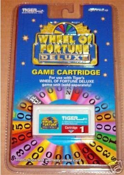 Wheel Of Fortune Cartridge Deluxe  1 by Tiger Electronics