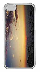 iPhone 5C Case, Personalized Custom Cordilleras Mountains for iPhone 5C PC Clear Case
